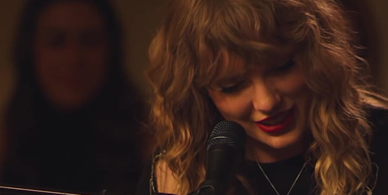 "Taylor performs ""New Year's Day"" in TGIT on ABC"