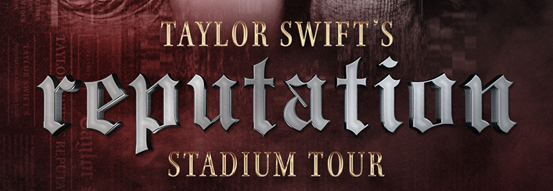 "Taylor announces ""reputation Stadium Tour"""