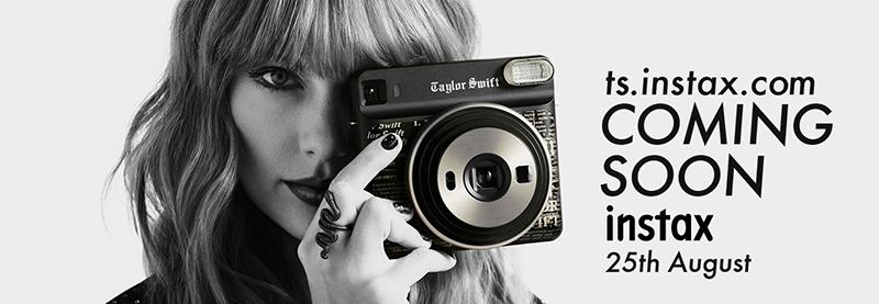 Taylor Unveils Special-Edition Instax Camera