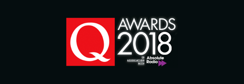 Taylor Nominated For 2018 Q Award
