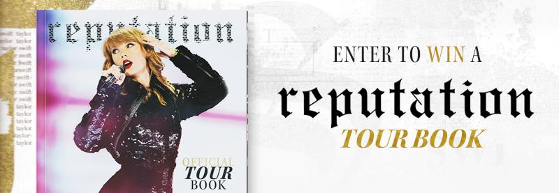 reputation Stadium Tour Book Giveaway