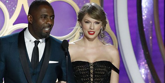 Taylor Makes Surprise Appearance at the Golden Globe Awards