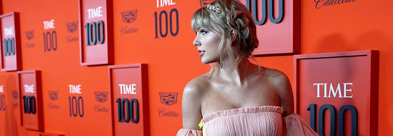 Taylor attends the 2019 TIME 100 Gala