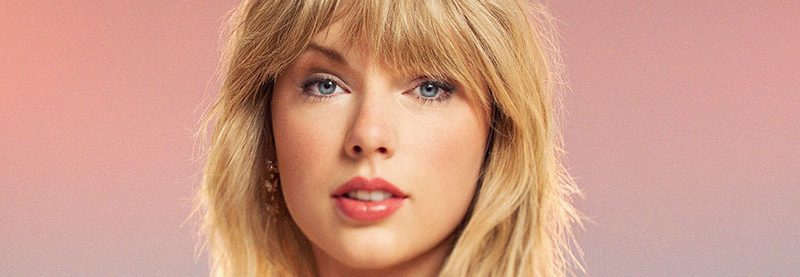 Taylor on the cover of Time's 100 Most Influential People Issue
