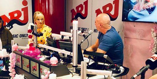 Taylor interviewed on NRJ Radio