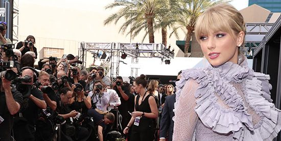 Taylor attends the 2019 Billboard Music Awards