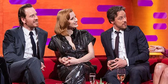 Taylor appears on The Graham Norton Show
