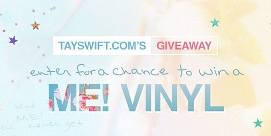 Enter to win a ME! vinyl