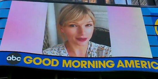 Taylor to perform on Good Morning America