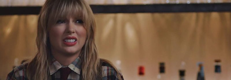 Taylor Stars in Capital One Commercial