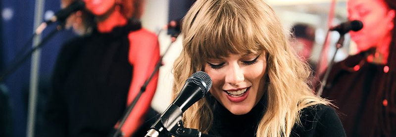 Taylor to Play Stripped-Down SiriusXM 'Lover' Town Hall