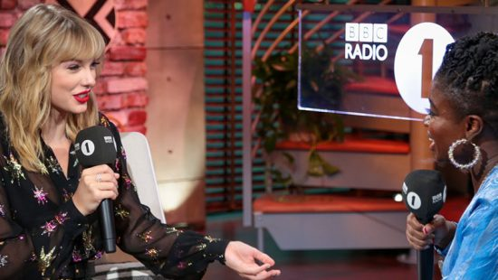 Taylor Performs on BBC's Radio 1 Live Lounge