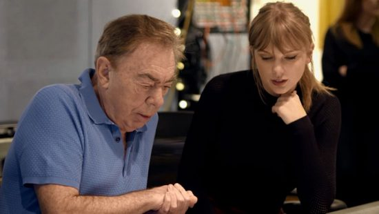 Taylor and Andrew Lloyd Webber Have Co-Written a New Song for 'Cats'