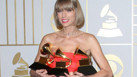 Taylor Nominated for Three Grammy Awards!