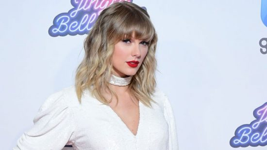 Taylor Performs at Capital's Jingle Bell Ball 2019