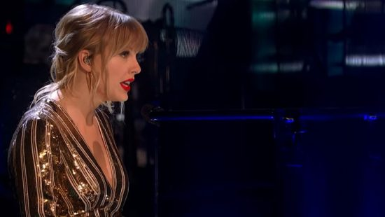 "Taylor Performs ""Lover"" on Strictly Come Dancing"
