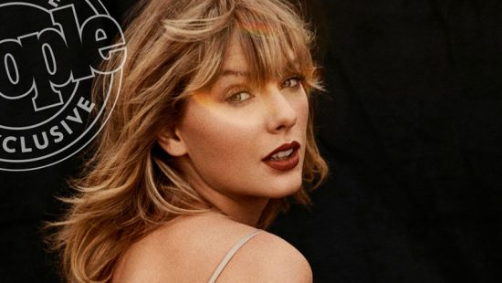 Taylor on the cover of People's 2019 People of the Year Issue