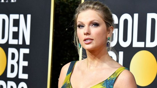 Taylor attends the  77th Annual Golden Globe Awards
