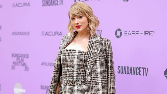 "Taylor attends the premiere of ""Miss Americana"" at the 2020 Sundance Film Festival"