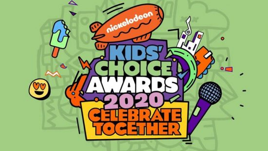Taylor wins 'Favorite Global Music Star' at the 2020 Kids Choice Awards