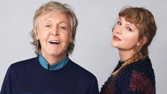 Taylor Covers Rolling Stone with Paul McCartney