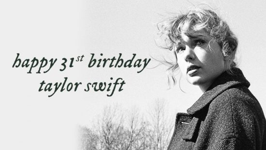 Happy 31st Birthday, Taylor!
