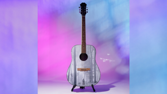 Bid to Win a Folklore Guitar Autographed By Taylor