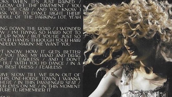'Fearless (Taylor's Version)' Booklet Scans