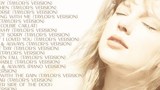Taylor Releases Tracklist For Fearless (Taylor's Version)