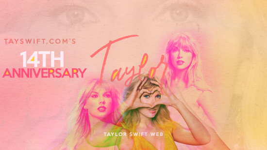 Taylor Swift Web Celebrates its 14th Anniversary
